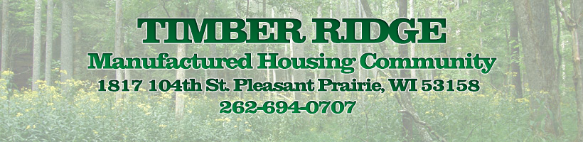 Timber Ridge Manufactured Housing Community